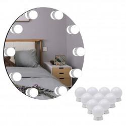 Led Spiegelleuchte Spiegellampe 10pcs Leuchte Schminklicht Lampe Kosmetikspiegel Schminkleuchte