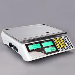 Digitalwaage Preiswaage Paketwaage Ladenwaage Elektronische 30kg/5g