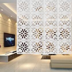 12 Stück Hängender Raumteiler Trennwand Hängeleinwand Dekoration für Zuhause Hotel Büro usw.