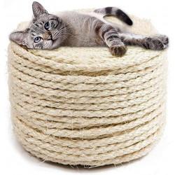 Sisalseil Katzenkratz Seil für Kratzbaum Reissfeste Sisalschnur 30M