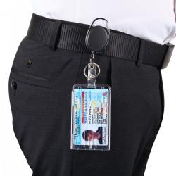 3pcs Ausweisjojo Schlüssel Ausweis JoJo mit Ausweishülle f. Ausweis