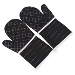 1 Paar Ofenhandschuhe Topfenhandschuhe Handschuhe Backhandschuhe für die Küche Ofen Töpfen Pfannen Backblechen