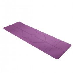 Yogamatte Gymnastikmatte mit Tragegurt 183 x 61cm Gymnastikmatte Sportmatte Fitnessmatte Yogamatte Trainingsmatte Matte für Fitness
