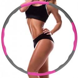 Hula Hoop Reifen Erwachsene Fitnessübungen Gewichtsabnahme + Bandmaß