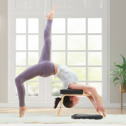Yoga Kopfstandhocker Yogahocker Yogastuhl Yoga Handstand Kopfstandhocker Kopfstand Yogastuhl Hocker für Zuhause