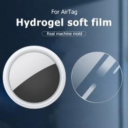 4Stück Schutzfolie für AirTag 2021, Soft Displayschutzfolie AirTag Folie Anti-Scratch Anti-Bubble HD Clear flexibel Anti-Fingerabdrücke