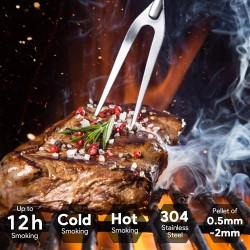 Kaltrauchgenerator Kaltraucherzeuger zum Kalträuchern Cold Smoke Generator Food Smoker Meat Smoker für Kugelgrill BBQ Smoker