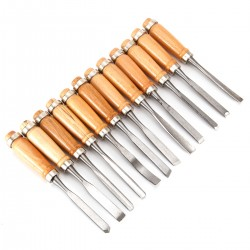 Holz Schnitzwerkzeug Set 12stk. Holz Schnitzmesser für Erwachsene und Kinder, Schnitzmesser Set für holz, Obst, Gemüse, Carving DIY, Skulptur und Wax