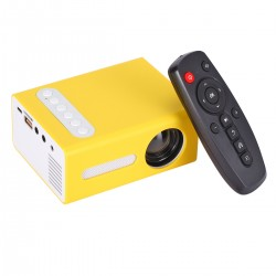 Mini Beamer LED Projektor Heimkino LED mini Projector 1080P 16: 9/4: 3 Filmprojektor 1080P HDMI Multimedia Player