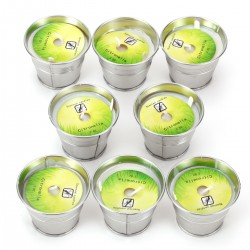 8pcs Anti Mücken Citronella Kerze Outdoor Indoor für Garten Terrasse