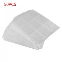 9-Pocket Sammelkarten Sammelmappe für Sammelalbum Karten 50 Seiten