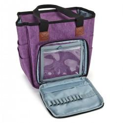 Aufbewahrungstasche Handtaschen mit Griff Stricknadeln Häkelzubehör