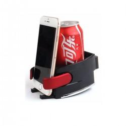 Auto Getränkehalter Dosenhalter Multifunktion Handyhalter rot
