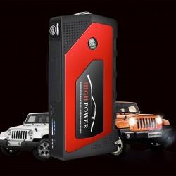 Autostarthilfe Starthilfegerät Autobatterie LCD-Anzeige für Benzinauto