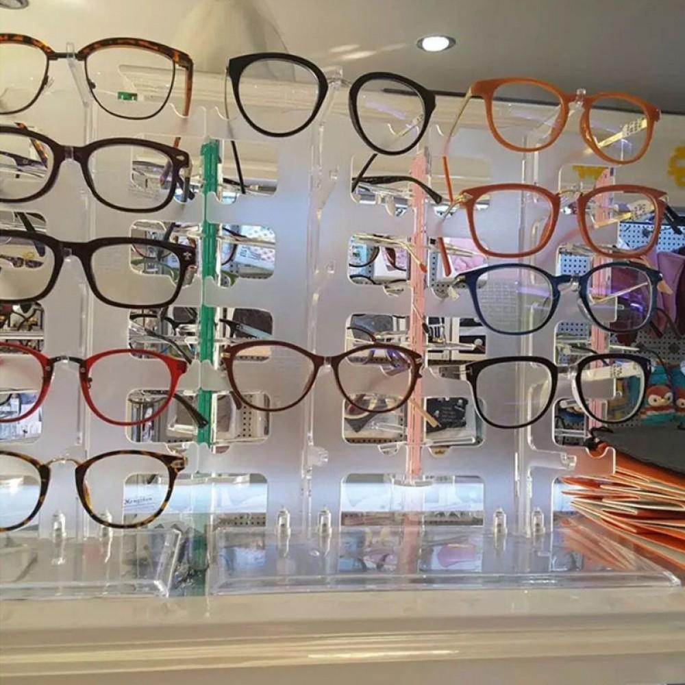 Brillenständer Acryl Brillen Display Präsentation Ständer 4 5 oder 10 Brillen
