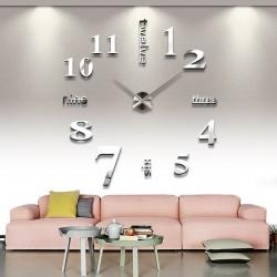 DIY Wanduhr Wandtattoo Dekoration Moderne Clock Spiegel Wandaufkleber