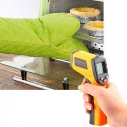 Digital Laser Infrarot Temperaturmessgerät Thermometer -50~380°C