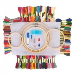 Embroidery tool Stickerei Starter Stricken Kreuzstich 100 Stück Set