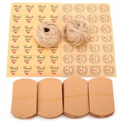Geschenk Kästen 120er Kraftpapier Kissen Kästen Süssigkeit Kasten