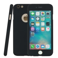 Handyhülle Cover Case Rundumschutz + Full Panzerfolie f. iPhone 6 6s