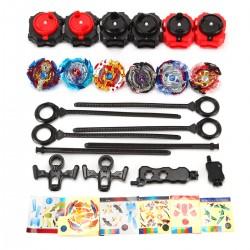 Kampfkreisel Beschleunigungslauncher Kreisel Speed Kinder 6er Spielzeug
