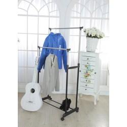 Kleiderstangen Kleiderständer 2 Teile ausziehbare Garderobenständer