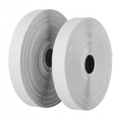Klettverschluss Selbstklebend 10m Doppelseitig Klettband 2 Rolle