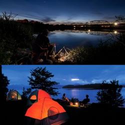 LED Akku Strahler Flutlicht Aussenbeleuchtung Scheinwerfer Outdoor 10W