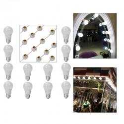 LED Makeup Lampe Leuchte Spiegellicht Set für Schminkspiegel weiß