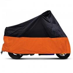 Motorrad Abdeckplane Abdeckung Motorradplane Car Cover 245x105x125cm