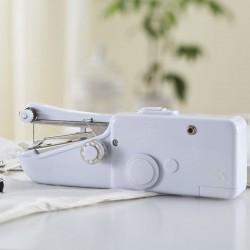 Nähmaschine Mini Hand Nählicht Maschine Taschen Freiarm weiß 500g