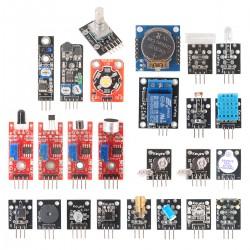 Sensormodul Bausatz Sensor mit Anleitung für Arduinosensormodul 24in1