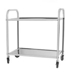 Servierwagen Küchenwagen Abstand Leichtlaufräder Feststellbremse