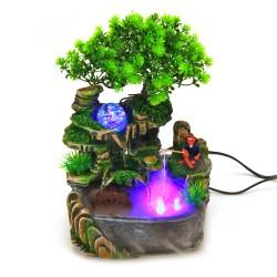 Springbrunnen Gartenbrunnen Zimmerbrunnen LED Beleuchtung Innen Aussen