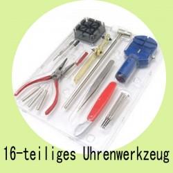 Uhrmacherwerkzeug Uhrenmacher Feinmechanik Werkzeug  16-teiliges Set