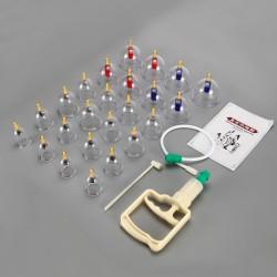 Vakuumpumpe Schröpfset Schröpfen Vakuumglöckchen Schröpfgläser Set