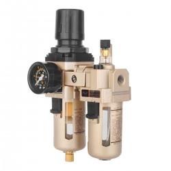 Wasserabscheider Druckminderer für Druckluftkompressor 1/4 Zoll Filter