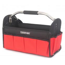 Werkzeugtasche Werkzeugbox Montagetasche mit Schultergurt schwarz