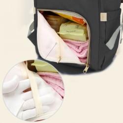 Wickeltasche Wickelrucksack Baby Reisetasche Babytasche für Unterwegs