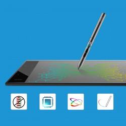 Zeichentablett Grafiktablett Malen A30 mit Stift mit Tasche f. Mac PC
