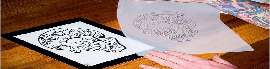 Wie benutzt man die Tattoo Transferpapier?