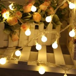 Lichterkette Beleuchtung Party für Weihnachtsbeleuchtung 10m 80LED