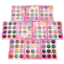 Glitzerstaub Glitzerpuder UV Gel DIY Glitter Nagel Set 120 Farben