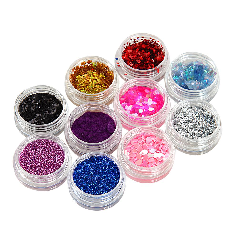 120 farben glitzerstaub glitzerpuder uv gel diy glitter. Black Bedroom Furniture Sets. Home Design Ideas