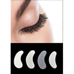 Augenpads Eye Pads Gel Patch 10 Paar für Eye Extensions Silber