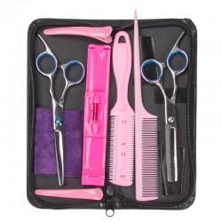Friseurschere Haarschere Werkzeugset Pony Haar Modellierschere Set