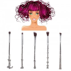 Make up Pinsel Set