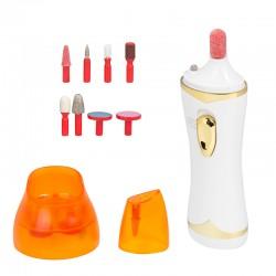 Maniküre und Pediküre Set 9in1 Nagelbohrgerät Nagelpflege Aufsätze