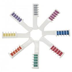 Haarfärbemittel Haarkreide Kamm Temporär Haarfärbekreiden 8 Farbe