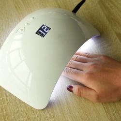 Nageltrockner UV LED Nagellampe Lichthärtungsgerät SUN8 für Gel Weiß